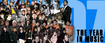 2007 - the year in music