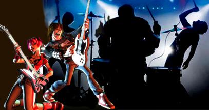 rock band guitar hero