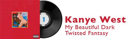 Album 1 - Kanye West - My Beautiful Dark Twisted Fantasy
