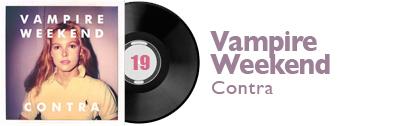 Album 19 - Vampire Weekend - Contra