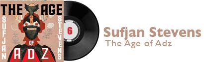 Album 6 - Sufjan Stevens - The Age of Adz