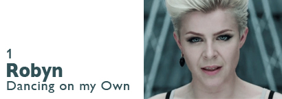 Single 1 - Robyn - Dancing on my Own
