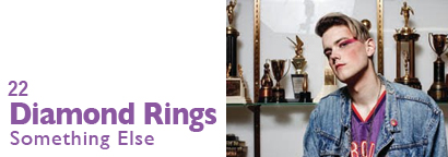 Single 22 - Diamond Rings - Something Else