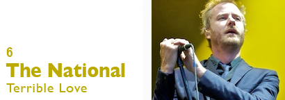 Single 6 - The National - Terrible Love